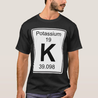 Camiseta K - Potasio