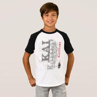 Camiseta Kaitiaki - guardas maoríes (camiseta blanca)