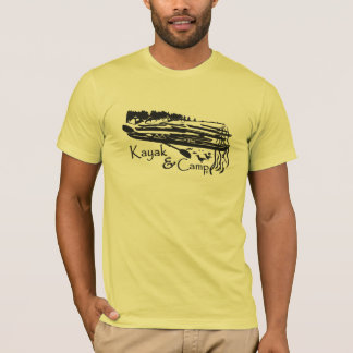 Camiseta Kajak y campo