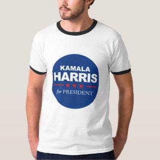 Camiseta Kamala Harris para el presidente - azul del