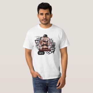 Camiseta Kandii Popz Dezignz: Equipo del chica de Black'd