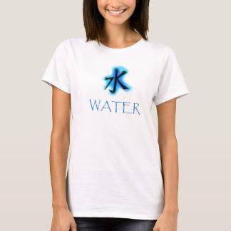 Camiseta Kanji del agua
