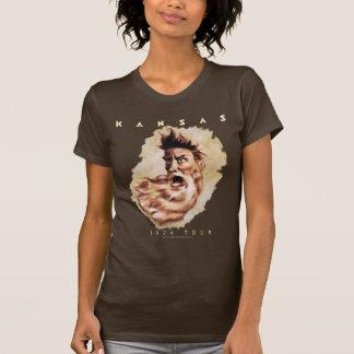 Camiseta KANSAS - viaje 1974