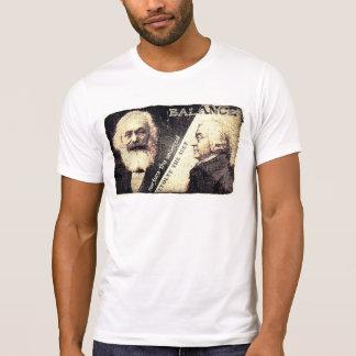 Camiseta Karl Marx v Adán Smith, el zen de - las palabras