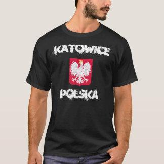 Camiseta Katowice, Polska, Polonia con el escudo de armas
