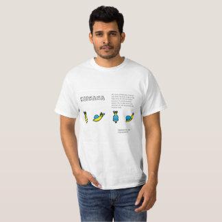 Camiseta Keenana el caracol del plátano