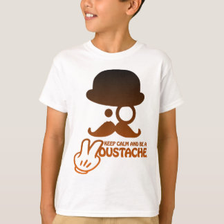 Camiseta Keep calm and a Moustache - by Www. Codeshirt24_.