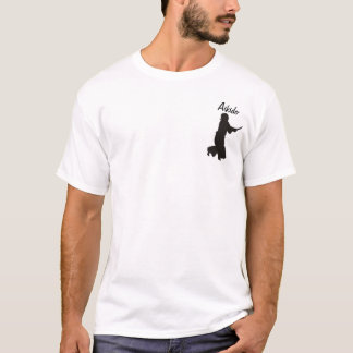 Camiseta _kendo_fighter_3_silhouette, Aikido