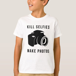 Camiseta Kill selfies