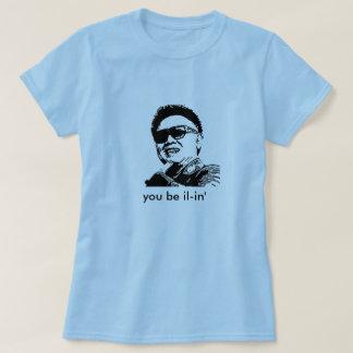 Camiseta Kim Jong-il, usted sea IL-in'
