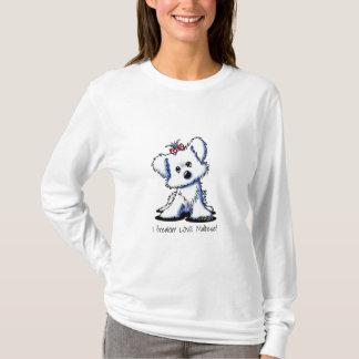 Camiseta KiniArt Girlie maltés