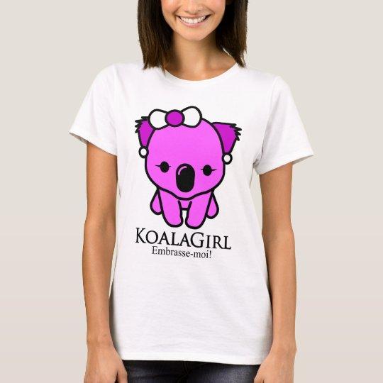 Camiseta Koala Girl
