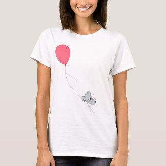 Camiseta Koala que flota lejos