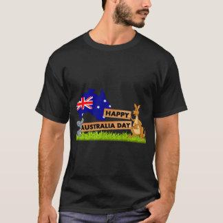 Camiseta Koala y canguro felices del día de Australia