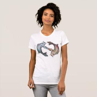 Camiseta Koi del zen
