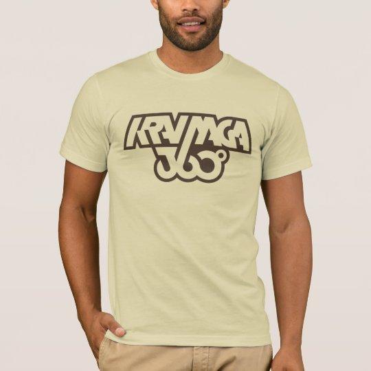 Camiseta Krav Maga 360 - marrón