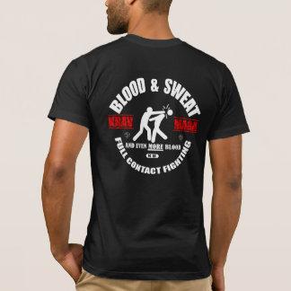 Camiseta Krav Maga: Manganeso del sudor de la sangre