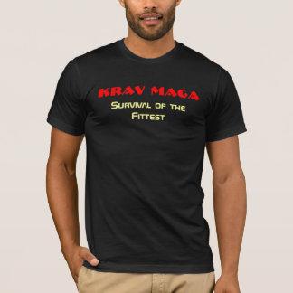 Camiseta Krav Maga, supervivencia del más apto