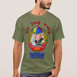Camiseta Krazy Kim Jong extraño - Needer supremo