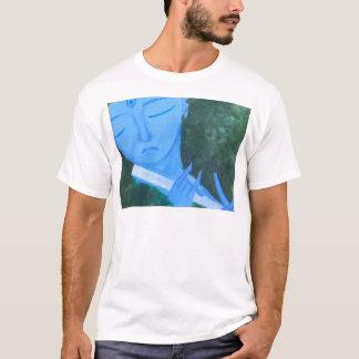 Camiseta Krishna con la flauta