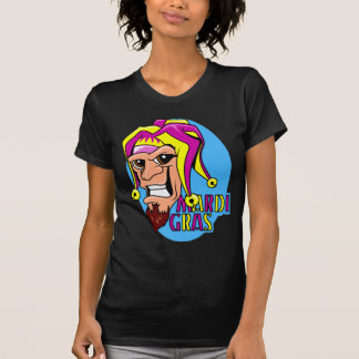 Camiseta KRW que hace muecas al bufón del carnaval