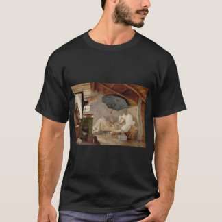 Camiseta kunst1 spitzweg 01 de carl de la información del
