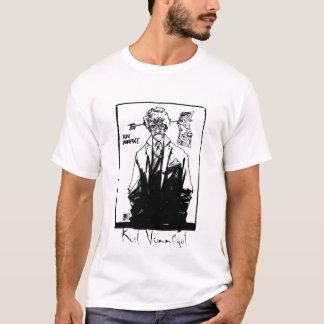 Camiseta Kurt Vonnegut blanco y negro