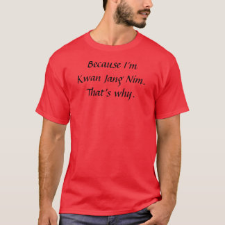 Camiseta Kwan Jang Nim