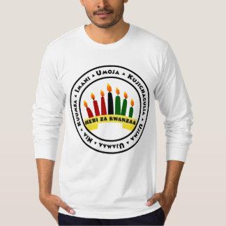 Camiseta Kwanzaa feliz con 7 principios