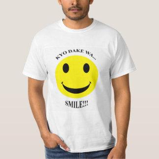 CAMISETA KYO DAKE WA...SMILE!!!
