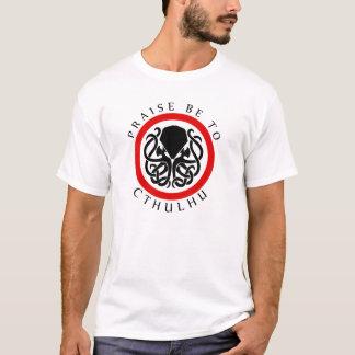 Camiseta La alabanza esté a Cthulhu