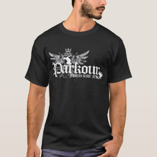 Camiseta La aptitud es nuestra armadura (el negro)