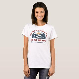Camiseta La aventura sale y juega