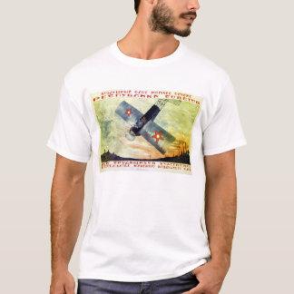 Camiseta La aviación es la fuerza de la república soviética