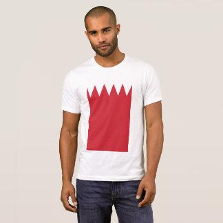 Camiseta La bandera abstracta de Bahrein, bahreiní colorea
