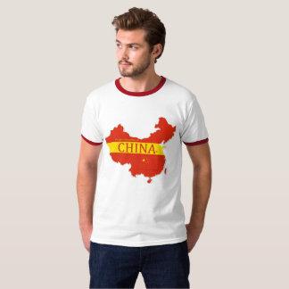 Camiseta La bandera de la P-República de China colorea la