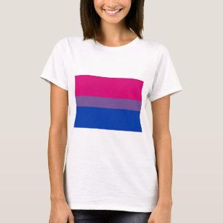 Camiseta La bandera del BI vuela para el orgullo bisexual