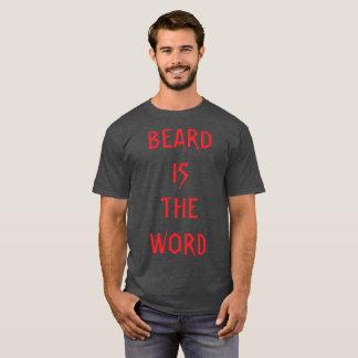 Camiseta La barba es la palabra