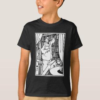 Camiseta La biblioteca de Pierrot del ejemplo de Beardsley