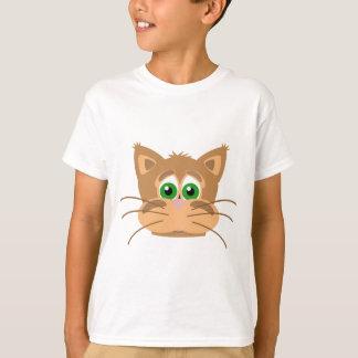Camiseta La cabeza del gato