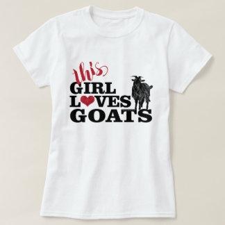 Camiseta La CABRA el | este chica ama el dólar de la