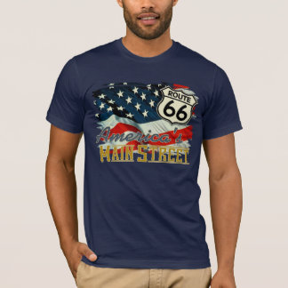 Camiseta La calle principal de América