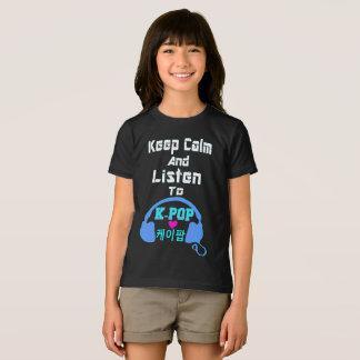 Camiseta la calma del ♪♥Keep y escucha KPop American