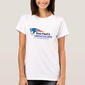 Camiseta La campaña de Ron Paul para la revolución del