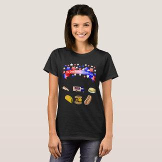 Camiseta La celebración grande americana de gastrónomo