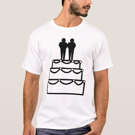 Camiseta La ceremonia del compromiso del matrimonio