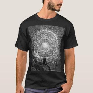 Camiseta La comedia divina de Dante: Rosa blanco - Gustavo