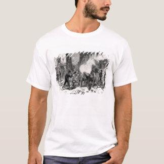 Camiseta La comuna de París: Una barricada en Issy