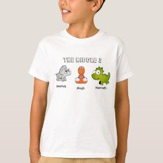 Camiseta La criba 3 como dinosaurios