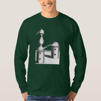 Camiseta La destilación de la alquimia equipa el frente y